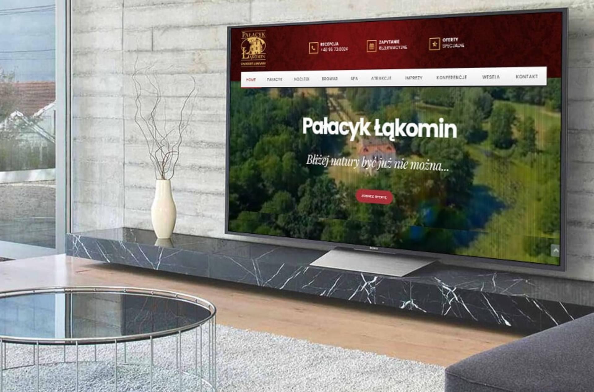 ROAN24 Łąkomin Palace Website