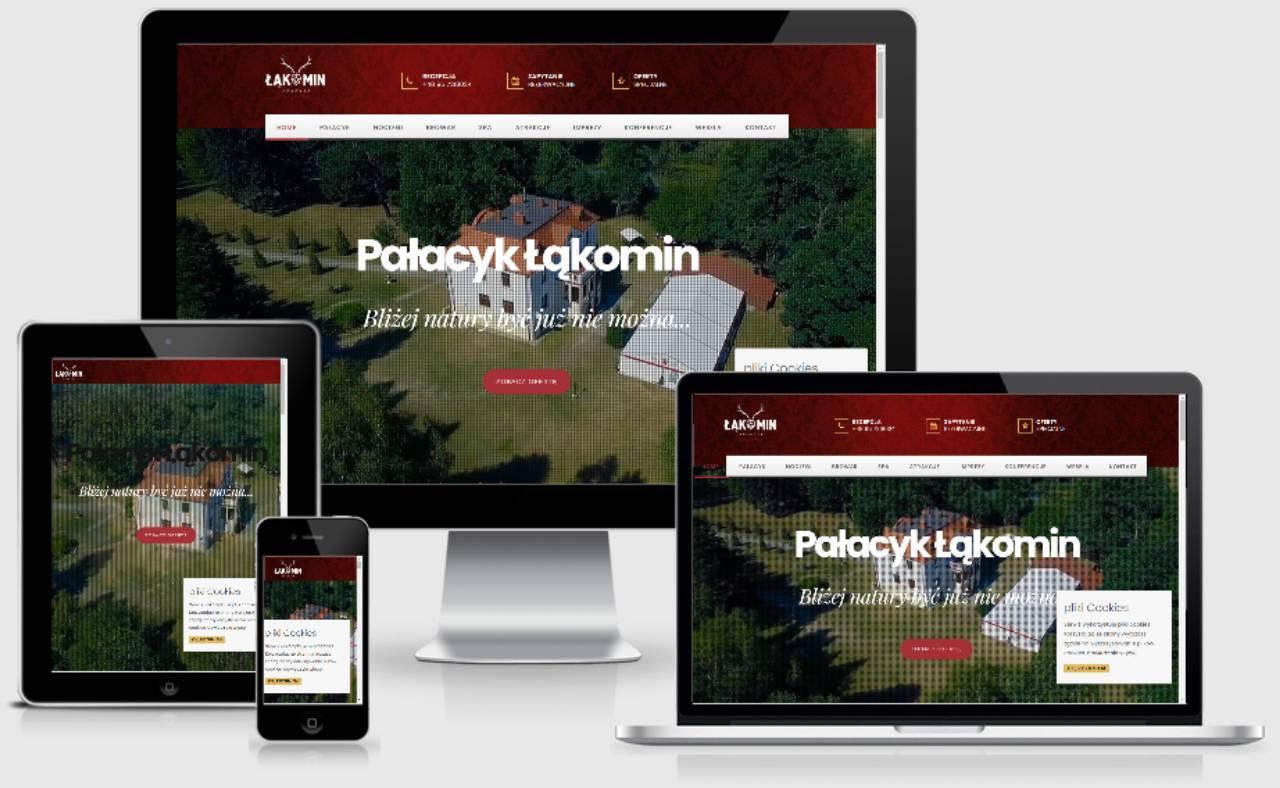 ROAN24 Palace Łąkomin Capacidad de respuesta del sitio web