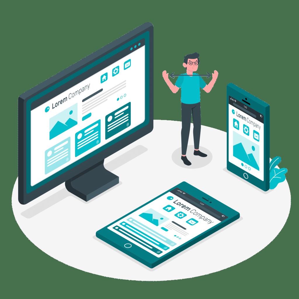 ROAN24 Diseño web responsivo
