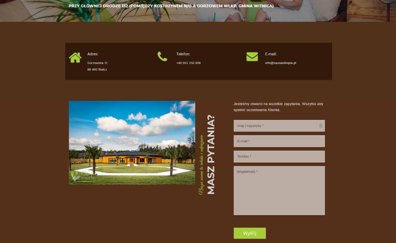 ROAN24 Sauna Olimpia Sitio web Contacto