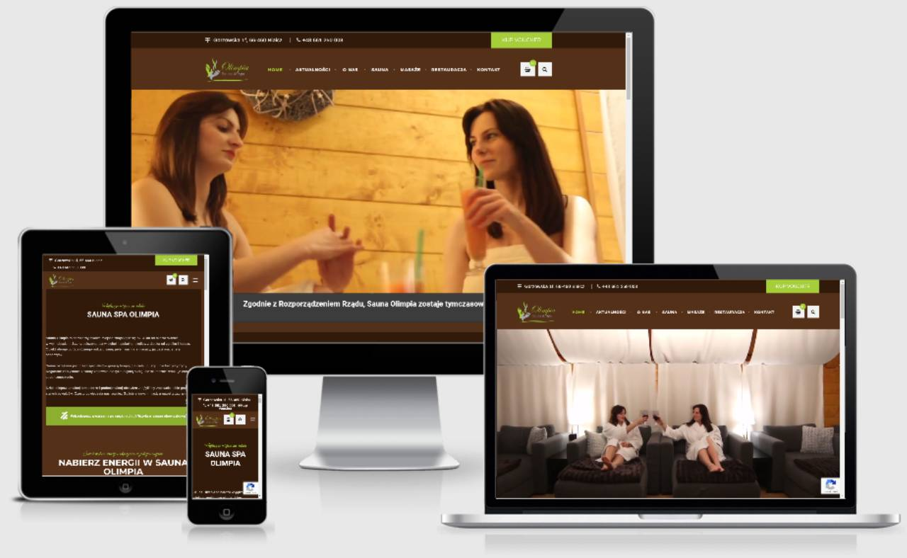 ROAN24 Sauna Olimpia Capacidad de respuesta del sitio web