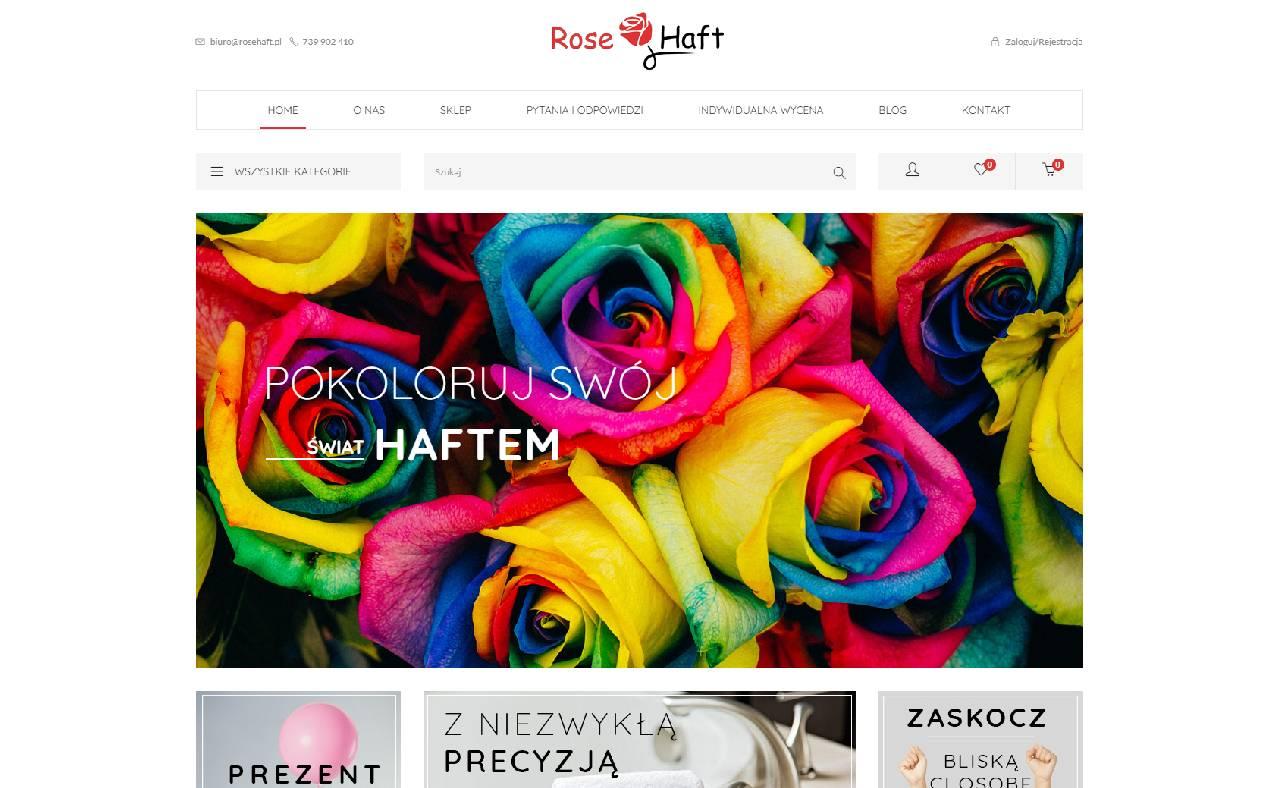ROAN24 Bordado de Rosas Tienda Online HOME