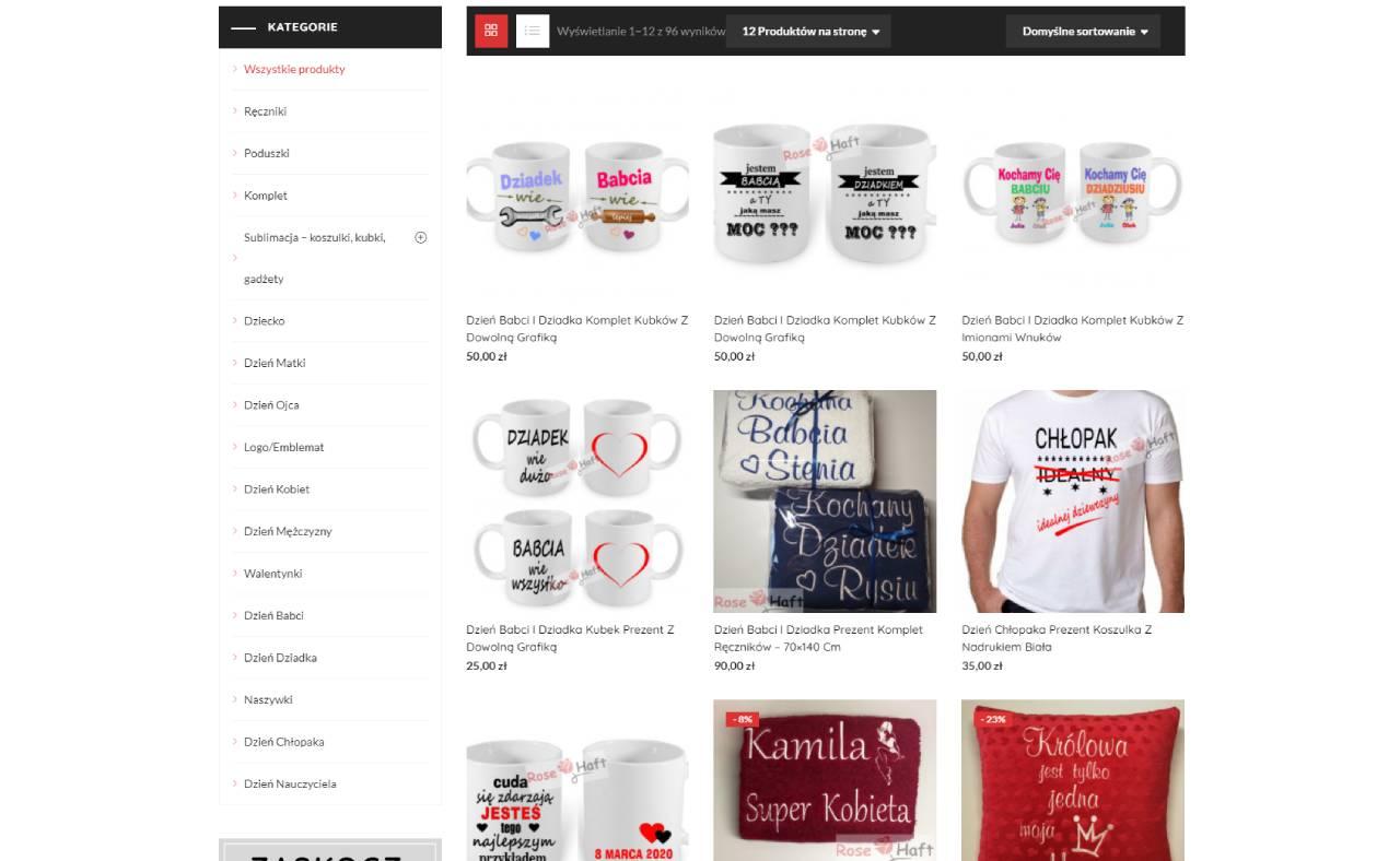 ROAN24 Bordado de Rosas Tienda Online